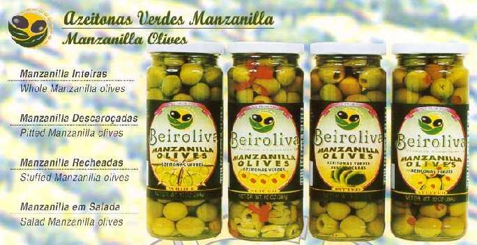 Azeitona Verde-Manzanilla